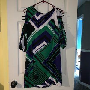 bebe Dresses - Multi-color Bebe Dress - Size L